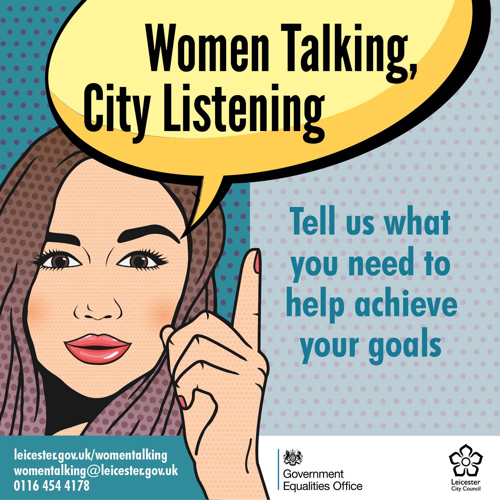 Women Talking, City Listening: Take part in a survey