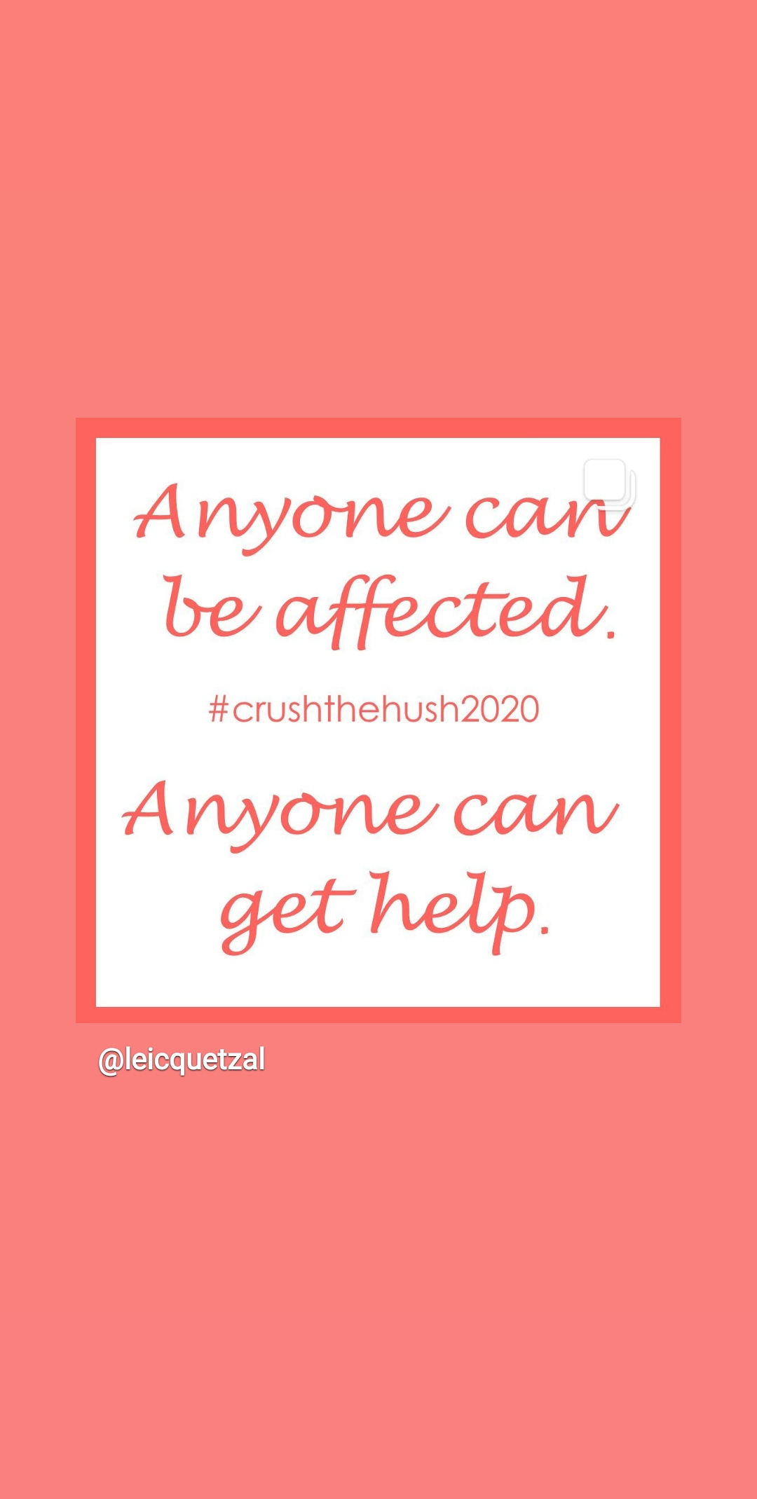 #CrushTheHush2020 Success – NCS Participants fundraised £428 so far for Quetzal and Received Support from Becky Vardy