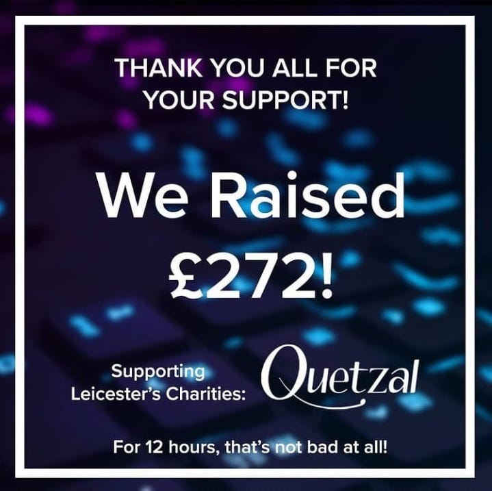 12Hr Charity Gaming Broadcast Success – Nikhil Mistry Fundraised £272